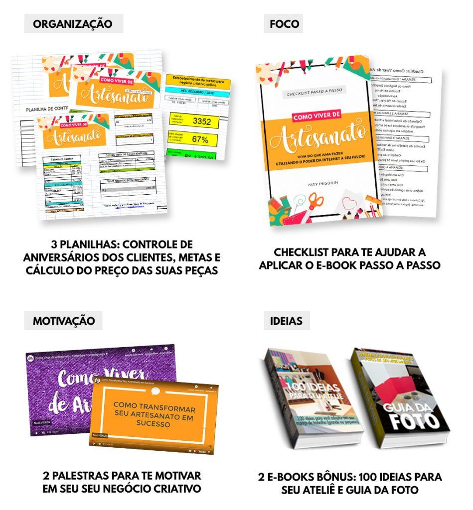 Ebook Como Viver de Artesanato - Todos os Bônus - Vs2